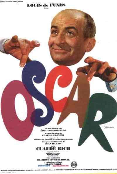 Affiche d'Oscar d'Edouard Molinaro