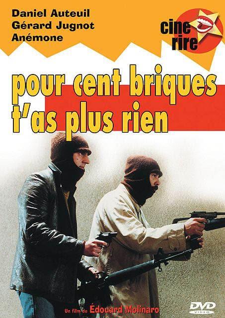 Pour cent briques t'as plus rien, collection Ciné Rire en DVD chez StudioCanal