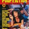 Affiche américaine de Pulp Fiction mettant en scène Uma Thurman. mythique