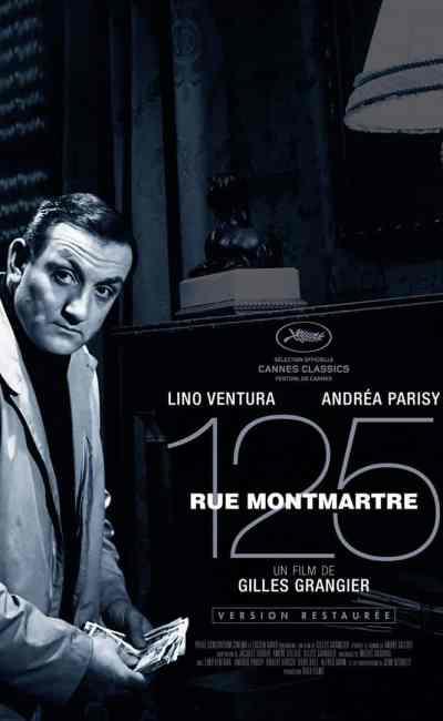 Affiche française 125 rue Montmatre