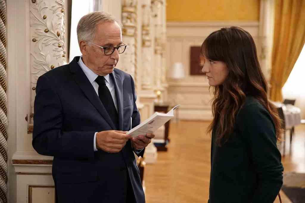Anaïs Demoustier et Fabrice Luchini dans Alice et le maire