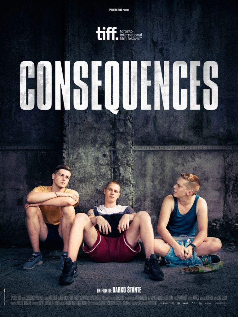 Conséquences, affiche du film slovène