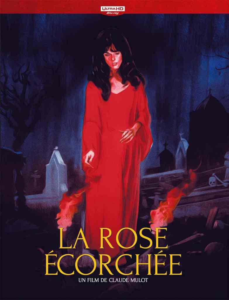 La rose écrochée de Claude Mulot, blu-ray Le Chat qui fume
