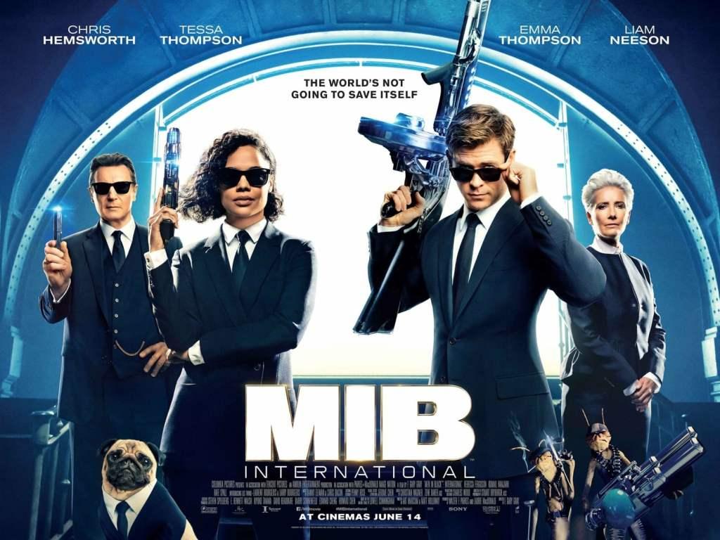 Affiche américaine du film MIB International