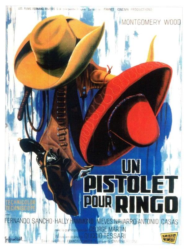 Un pistolet pour Ringo affiche cinéma