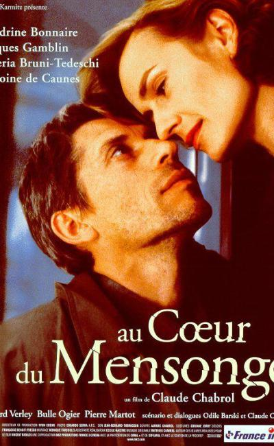 Affiche de Au coeur du mensonge de Claude Chabrol