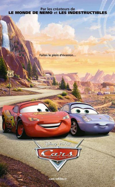 Cars Quatre Roues, affiche originale