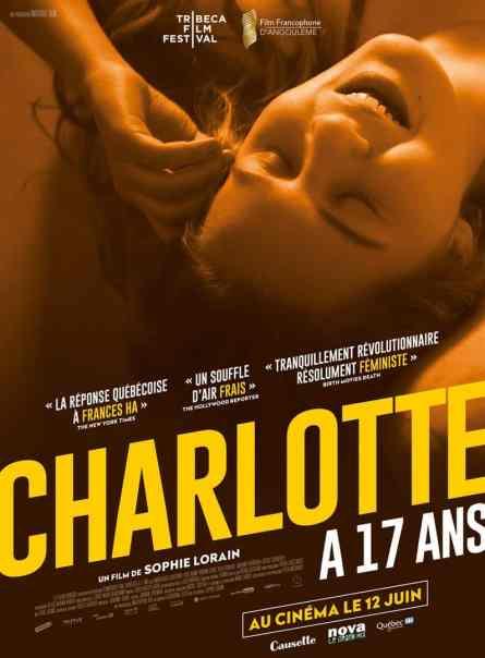 Charlotte a 17 ans affiche