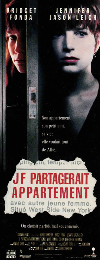 J.F. chercherait appartement, affiche pantalon