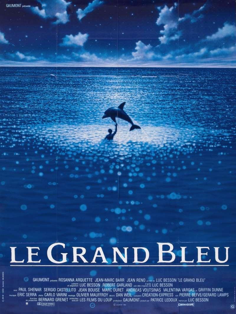 Le grand bleu, l'affiche