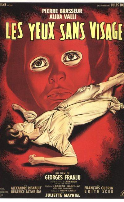 Les Yeux sans visage, affiche de Jean Illustrateur : Jean Jean Mascii