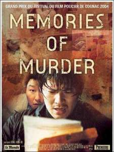Memories of Murder, affiche originale 2004