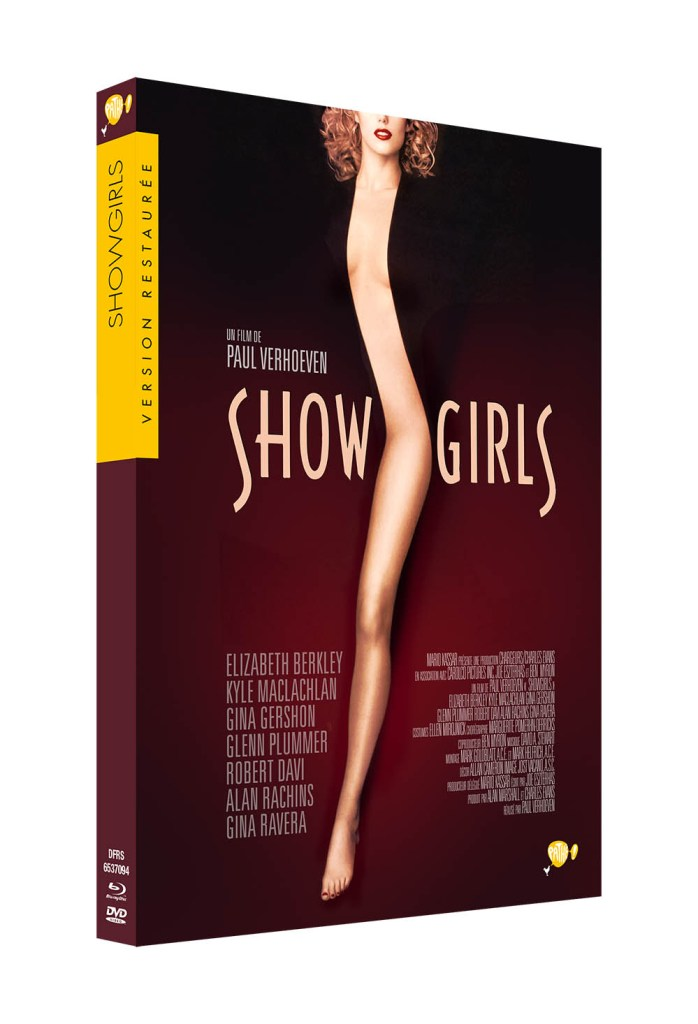 Edition DVD de Showgirls 2016