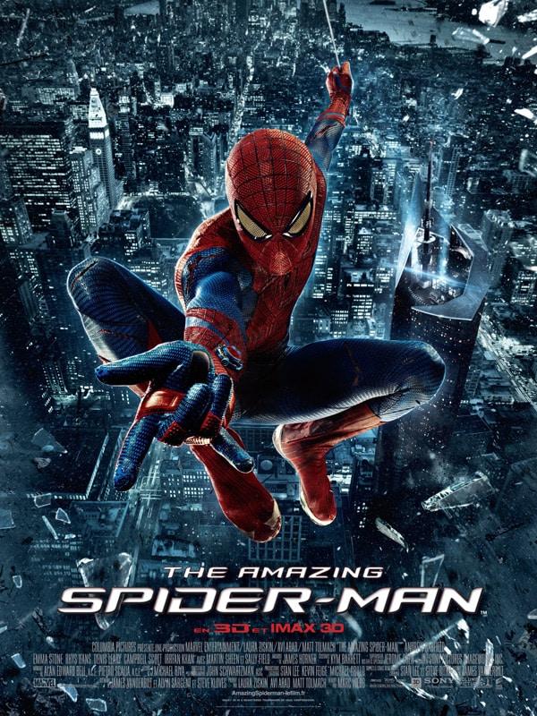 The Amazing Spider-Man affiche cinéma française