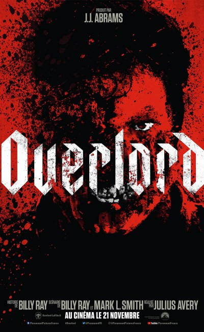 Overlord, affiche terrifiante du film de Julius Avery