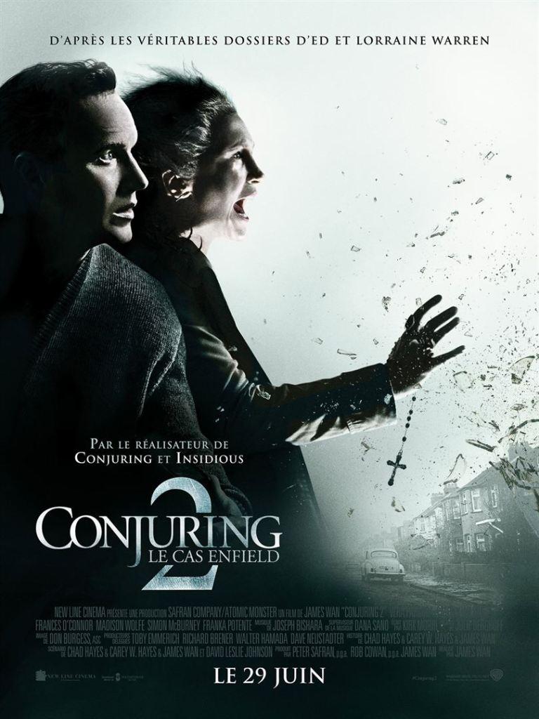 Conjuring 2 affiche définitive