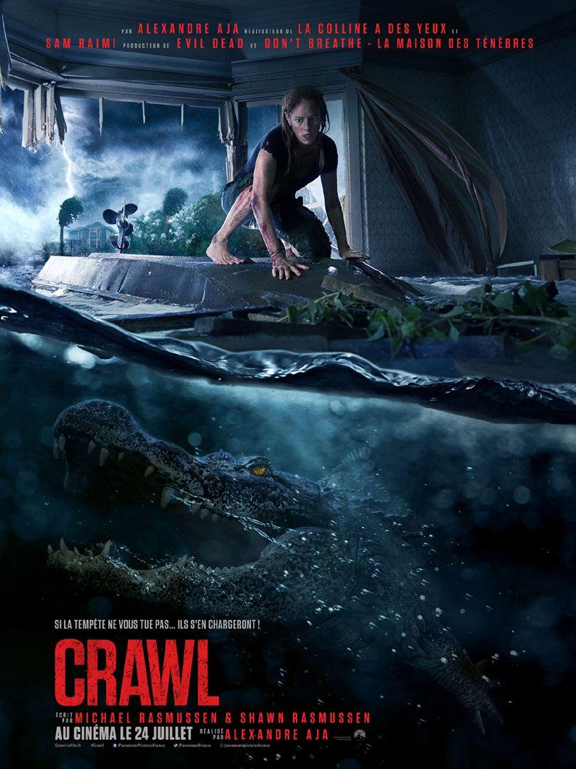 Crawl, l'affiche du film d'Alexandre Aja