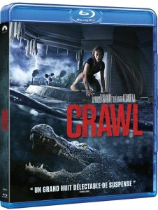 Crawl, sortie DVD et Blu-ray, jaquette