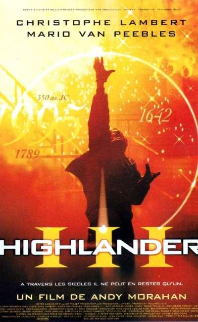 Highlander 3, l'affiche