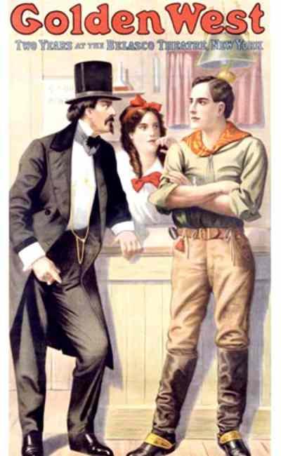 La fille du Far-West, affiche du film de DeMille
