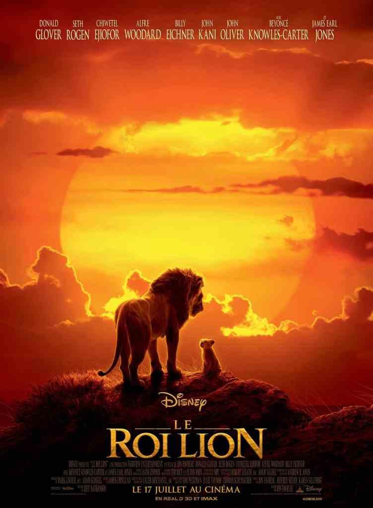 Le Roi lion affiche définitive