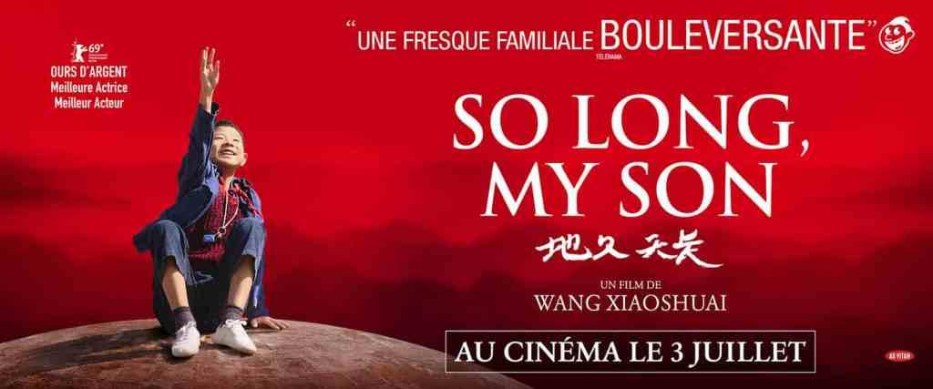 Affiche format scope de So long my son
