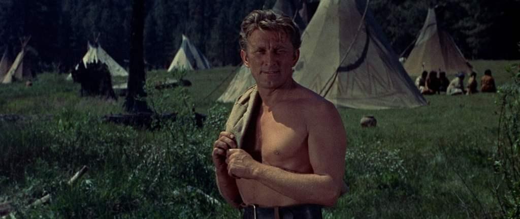 Kirk Douglas dans la Rivière de nos amours