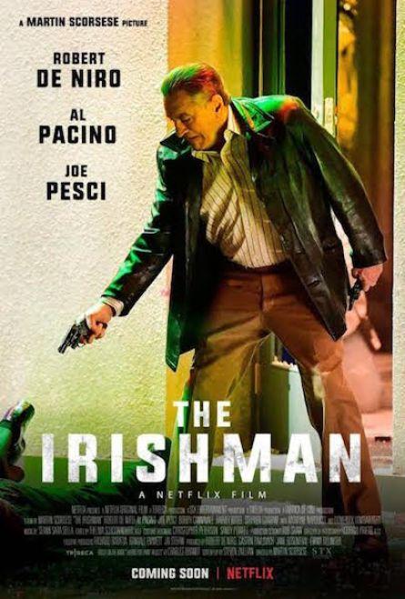 The Irishman affiche