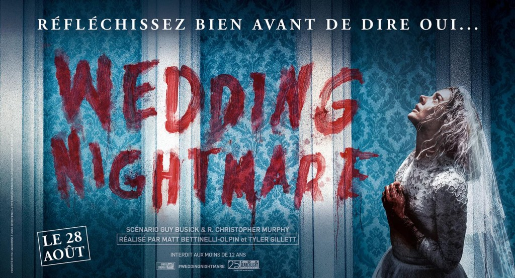 Affiche format kakemono de Wedding Nightmare