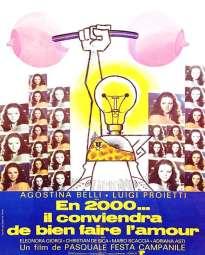 Affiche de la comédie En 2000 il conviendra de bien faire l'amour