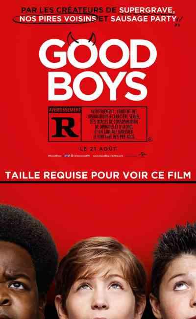 Affiche française Good Boys