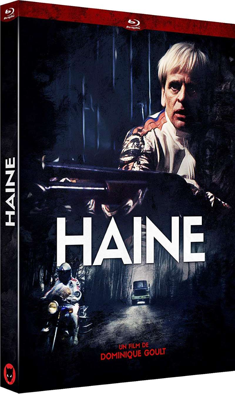 Haine, jaquette blu-ray