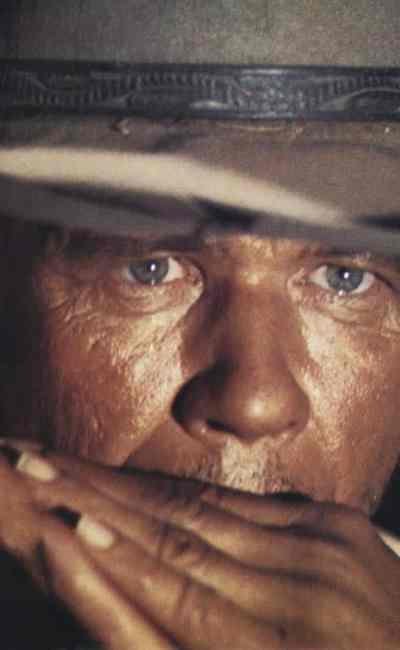 Charles Bronson dans Il était une fois dans l'Ouest de Sergio Leone. Mythique.