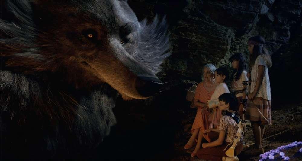 Ma famille et le loup, photo d'exploitation