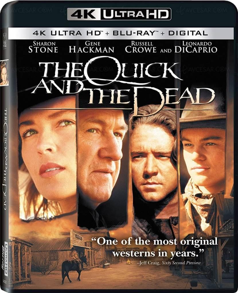 Sharon Stone dans Mort ou Vif en ultra HD 4K