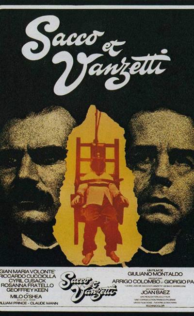 Affiche de Sacco et Vanzetti de Giuliano Montaldo