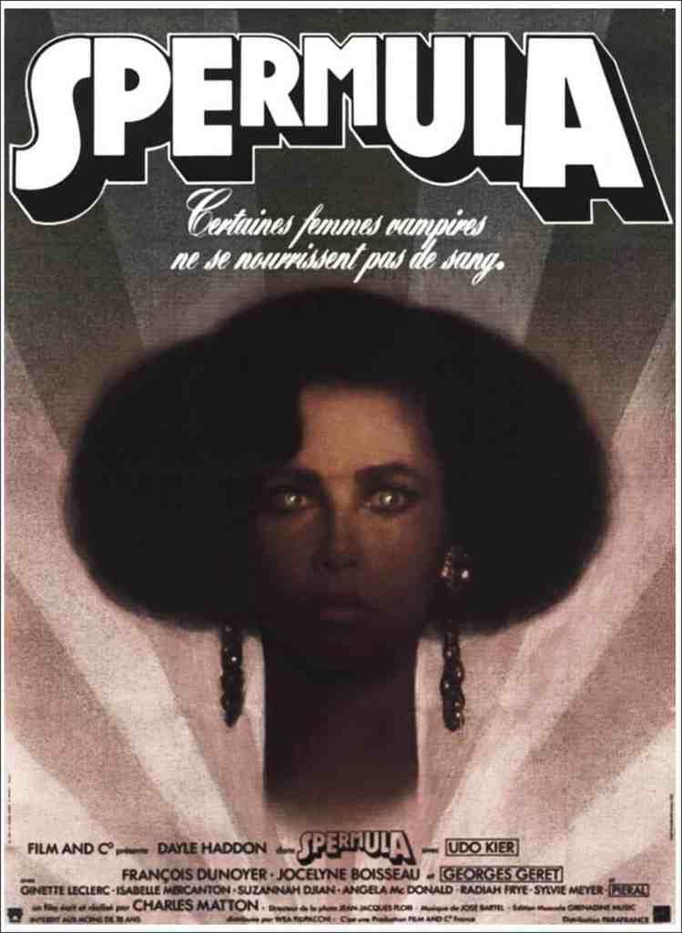 Affiche cinéma original de Spermula par Boumendil
