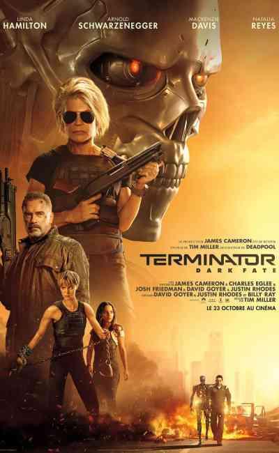 Twentieth Century Fox dévoile l'affiche définitive de Terminator Dark Fate