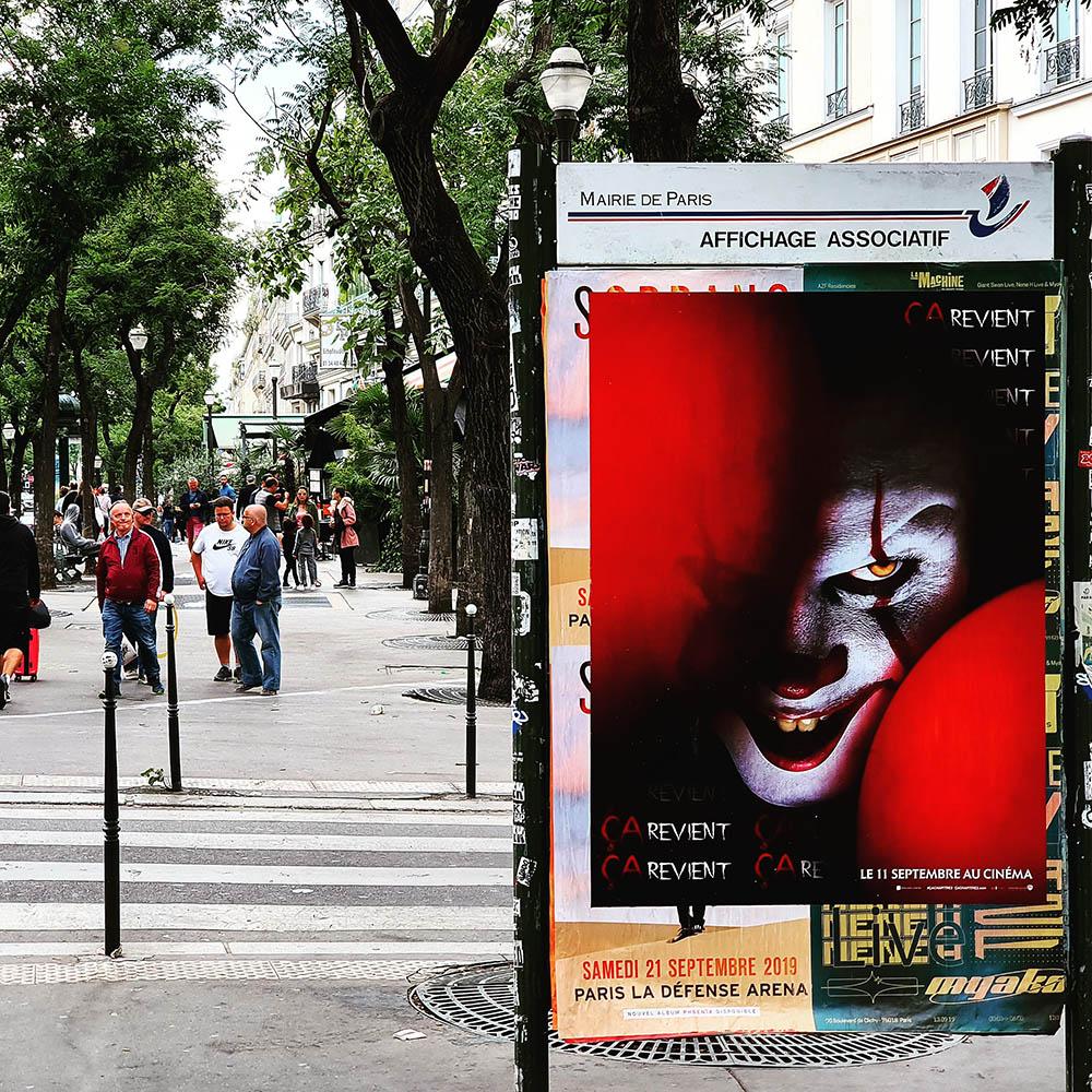 Ça chapitre 2 effraie les parisiens