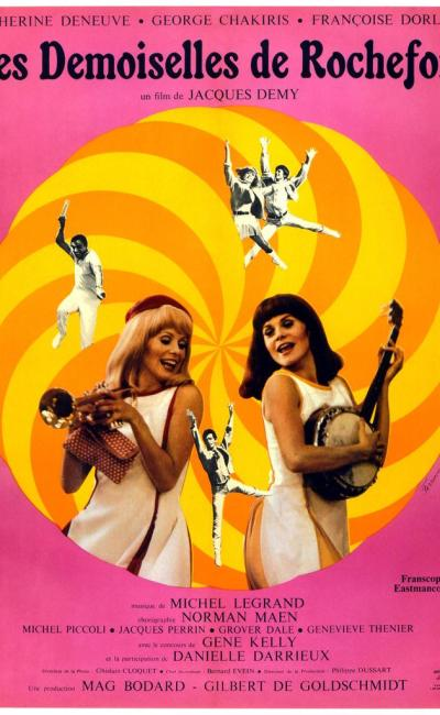 Affiche de Les Demoiselles de Rochefort de Jacques Demy
