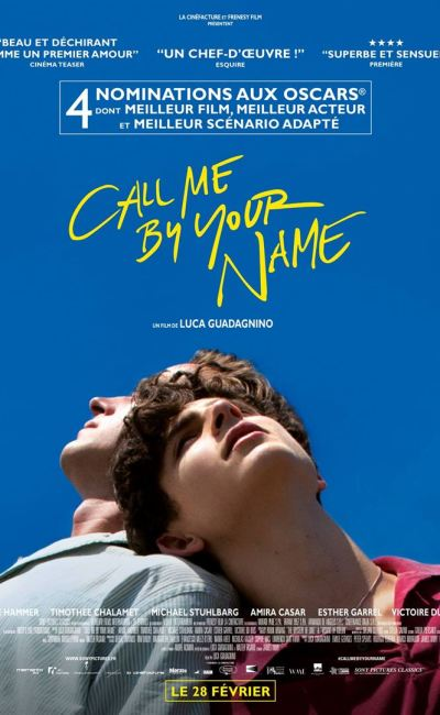 Call Me Be Your Name : la critique du film