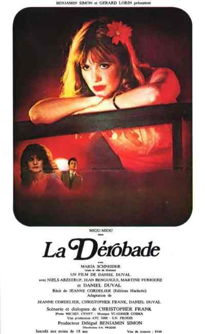 Affiche de La Dérobade de Daniel Duval