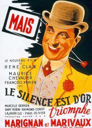 Affiche de Le Silence est d'or de René Clair