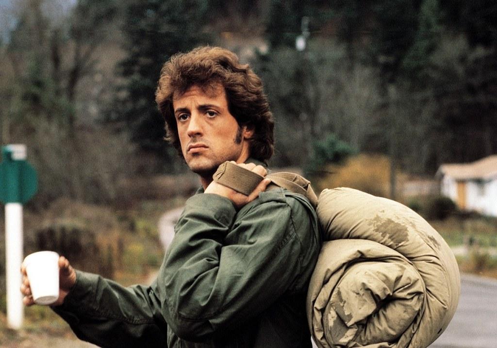 Rambo, l'autostoppeur