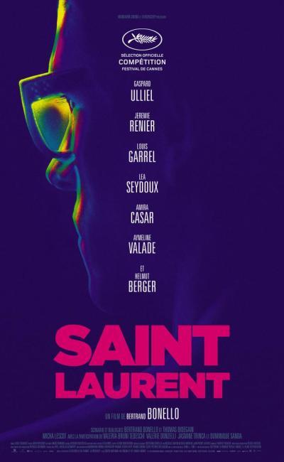 Affiche de Saint Laurent de Bertrand Bonello