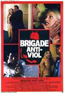 Brigade anti-viol, affiche Jacques Leitienne