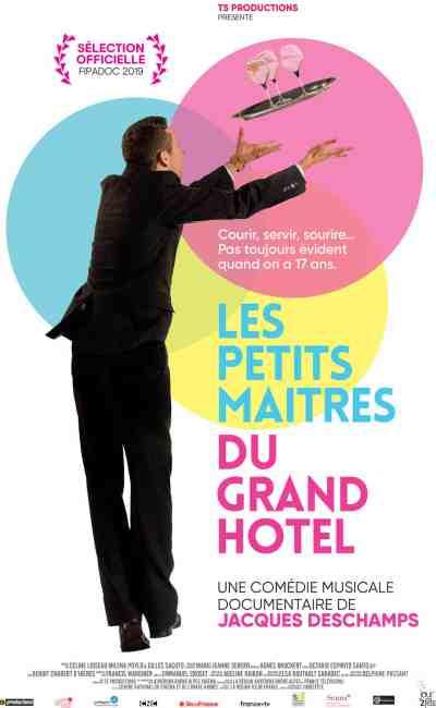 Les petits maîtres du Grand Hôtel, affiche du documentaire