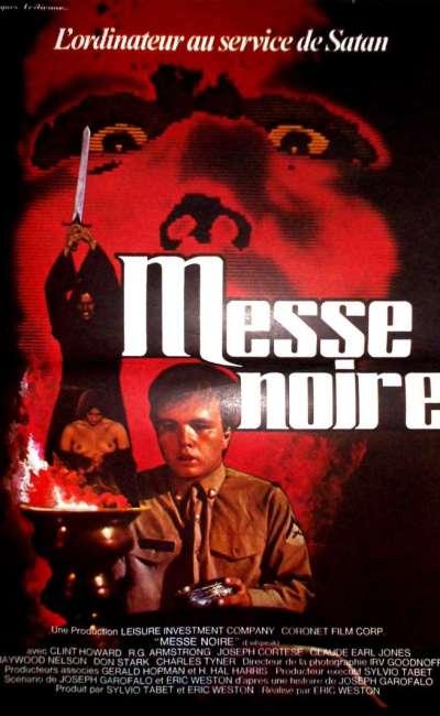Messe noire, l'affiche du film