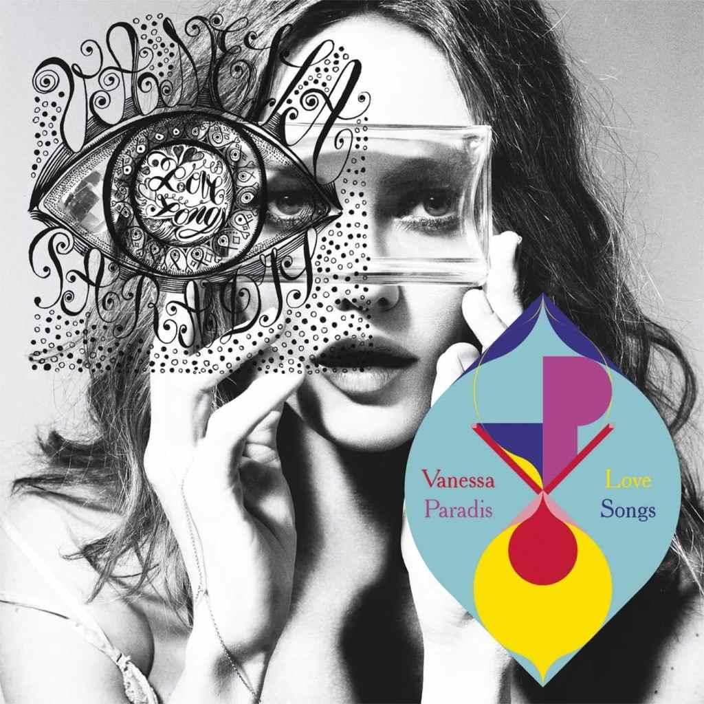 Vanessa Paradis Love Songs, pochette