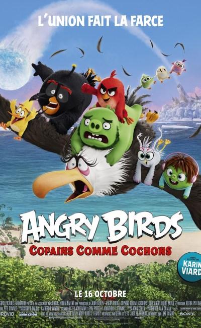 Affiche française de Angry Birds 2
